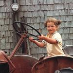 1983 08 On Wally's Tractor